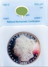 1880 S DMPL/DPL MORGAN SILVER DOLLAR NICE CAMEO.  - $161.70