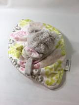 Blankets & Beyond Security Blanket Baby Girl Pink Sherpa Bear Plush BM21 - $17.47 CAD
