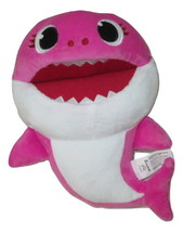 "Baby Shark Pinkfong Sings Song Puppet Plush 12"" Pink 2018 - $11.87"