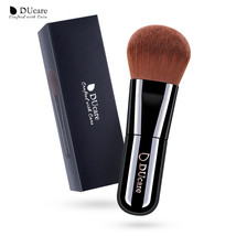 DUcare® Foundation Brush Professional Makeup High Quality Brown Syntheti... - $5.64