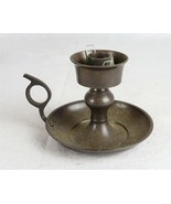 """Vintage Metal Candle Holder with Handle 4"""" - $24.74"""