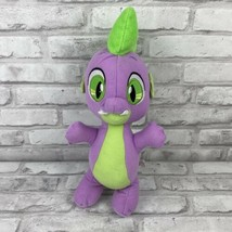 My Little Pony Hasbro Spike Purple Dragon Plush 2017 Friendship is Magic... - $15.44