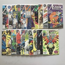 Lot of 21 Action Comics (1938 DC) from #593-647 VF Very Fine - $63.36