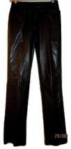 Harold's Vintage Beautiful Black Soft Leather Pants Size 2 - $59.99