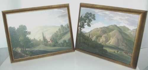 Astral Direct 5842 Tranquil Valley 1 and 2 Painting Set Melling Bronze Frame