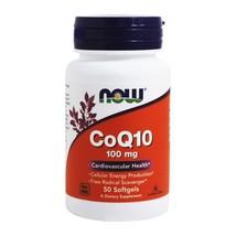 NOW Foods CoQ10 Cardiovascular Health 100 mg., 50 Softgels - $16.39
