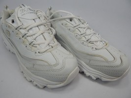 Skechers D'Lites Size US 8.5 M (B) EU: 38.5 Women's Athletic Shoes White