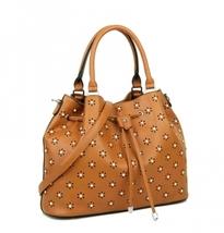 3D Floral Deco Bucket Handbag - $69.95