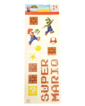 Super Mario 11 Piece Wall Decal Set - RMK3818SS