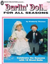 Darlin' Dolls Wooden Doll Craft Book - $7.00