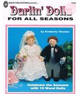 Darlin' Dolls Wooden Doll Craft Book - $7.00