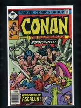 Conan the Barbarian #72 VG 1977 Marvel Whitman Variant Comic Book - $3.52