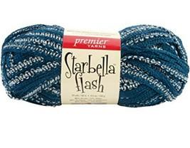 Starbella Flash Premier Yarns Silks 16-11 Skien 33yds each NWT - $8.97