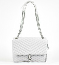 Rebecca Minkoff Edie Flap Chevron Quilted Leather Shoulder Bag - $157.41