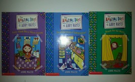 The Amazing Days Of Abby HayLot 3 Kids Chapter Books Mazer Stars Silver ... - $9.46