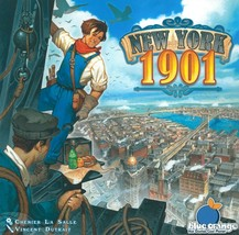 New York 1901 by Blue Orange Games City Sky Scraper Building Strategy Bo... - $38.99