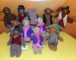 McDonalds Disney Mini Vinyl & Plush Country Bears Jamboree Crew Lot of 1... - $6.95