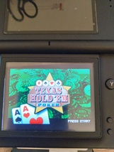 Nintendo Game Boy Advance GBA Texas Hold 'Em Poker image 1
