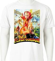Flash Gordon Dri Fit Tshirt printed active wear retro 80s movie superhero tee image 1