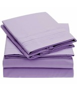 Hotel Comfort 1800 Count 3 Piece Queen Bed Sheet Set Wrinkle Fade Stain ... - $26.99