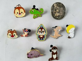 Disney Trading Pins Official Animals Theme Type 2 Lot of 10 Collectible - $26.73