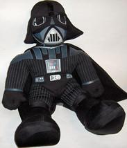 "2004 Talking Star Wars Darth Vader Hasbro 20"" Plush Stuffed Doll Dark Side - $9.89"