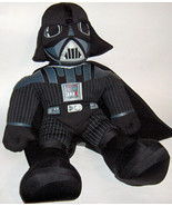 "2004 Talking Star Wars Darth Vader Hasbro 20"" Plush Stuffed Doll Dark Side - $9.89"