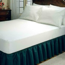 Fresh Ideas White Allergy Relief Fitted Mattress Protector, Queen - $57.99
