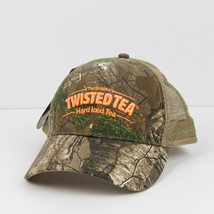 Realtree Xtra Twisted Tea Hard Iced Tea Snapback Camo Hat - $17.81