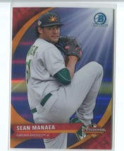 SEAN MANAEA RC 2016 Bowman Chrome AFL Fall Stars #AFLSM Oakland Athletic... - $1.80