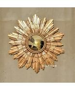 Dia 54cm European Style Wall Decorative Mirrors Sun Mirrors Modern Gold/... - $123.77