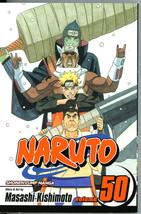 Naruto 50 Water Prison Death Match Masashi Kishimoto Manga Graphic Novel... - $5.00