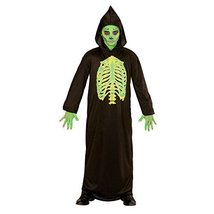 Widmann Children's Skeleton Master Costume with Hood - $20.09
