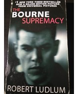 The Bourne Supremacy Bk. 2 by Robert Ludlum 2007 Paperback Movie Tie-in - $1.95