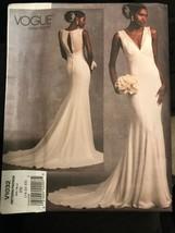 Vogue V1032 Bridal Original Wedding Dress Misses Size 18-22 Sewing Patte... - $24.47