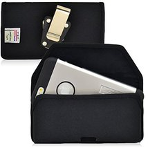 Turtleback Belt Clip Case for Apple iPhone 6S, Black Nylon Pouch with He... - $37.99