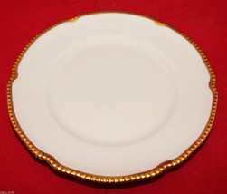 Castleton China Sovereign White Gold Trim Bread and Butter Plate 16.5cm ... - $35.39