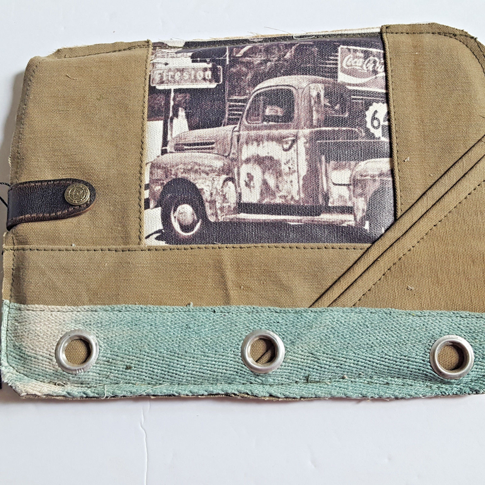 Primary image for Antique Truck iPAD Tablet Sleeve Bag Recycled Canvas Vintage Addiction Laptop