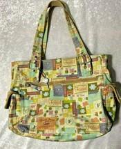 Fossil Women's Large Pastel Floral Adjustable Strap Shoulder Hand Bag - $30.39