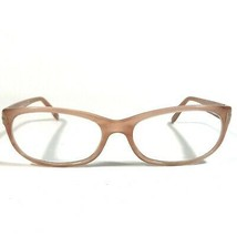 Tom Ford Clear Pink Plastic Cats Eye Thin Rimmed Eyeglass Frames TF5229 074 135 - $140.25