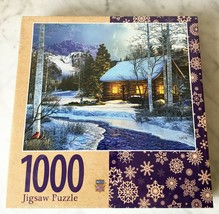 Winter's Solitude Randy Earles Masterpieces Jigsaw Puzzle 1000 Piece New Sealed - $28.45