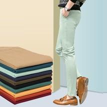 7 Color Inch Size 28~36 New 2018 Hot sale men pants fashion casual pants men new - $30.60