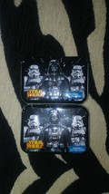 Two Star Wars Darth Vader Cotton Swab Collector Series Tins - $8.00