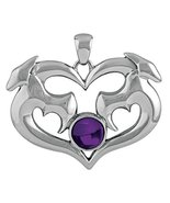 YTC Summit Dragon Heart Pendant Collectible Serpent Necklace Accessory J... - $22.27