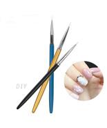 Nail Art Pen UV Gel Liner Brush Drawing Liner Manicure DIY - $5.99