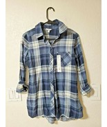 SONOMA BUTTON UP WOMENS FLANNEL NWT XS - $15.00