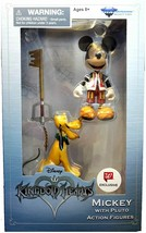 Diamond Select Toys Disney Kingdom Hearts Mickey Mouse with Pluto (Exclu... - $16.34