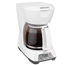 Proctor Silex 43671 12 Cup Programmable Coffeemaker White - $30.98