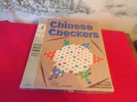 1962 Vintage Milton Bradley Chinese Checkers Game No. 4409 - $14.85