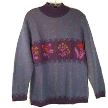 Vintage United Colors of Benetton mohair blend sweater, women's size 10 - $31.80